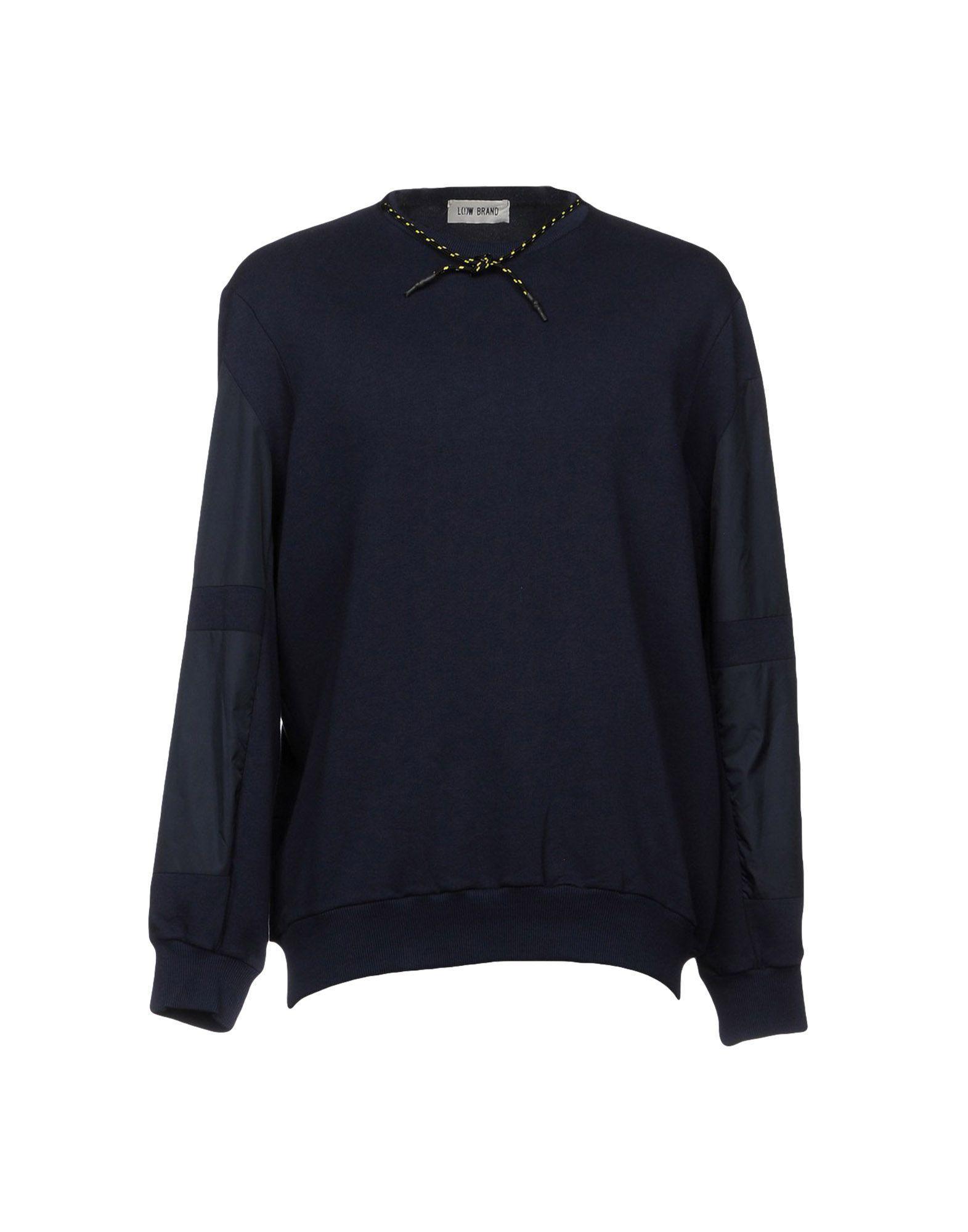Low Brand Sweatshirt In Dark Blue
