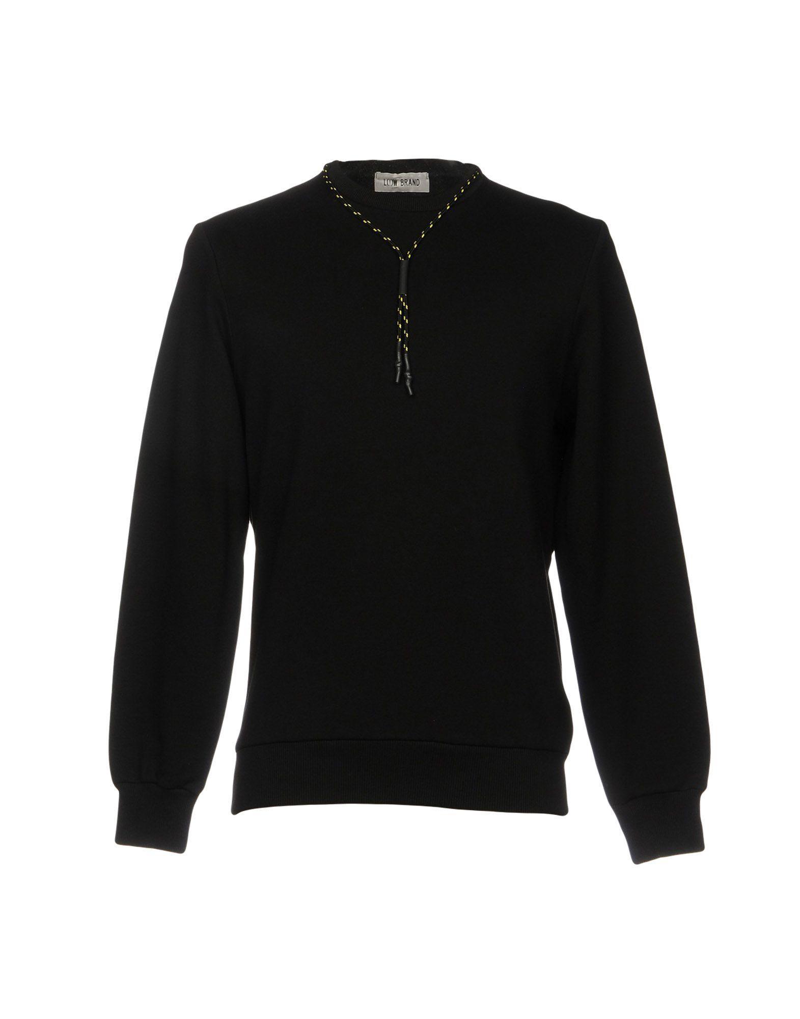 Low Brand Sweatshirt In Black