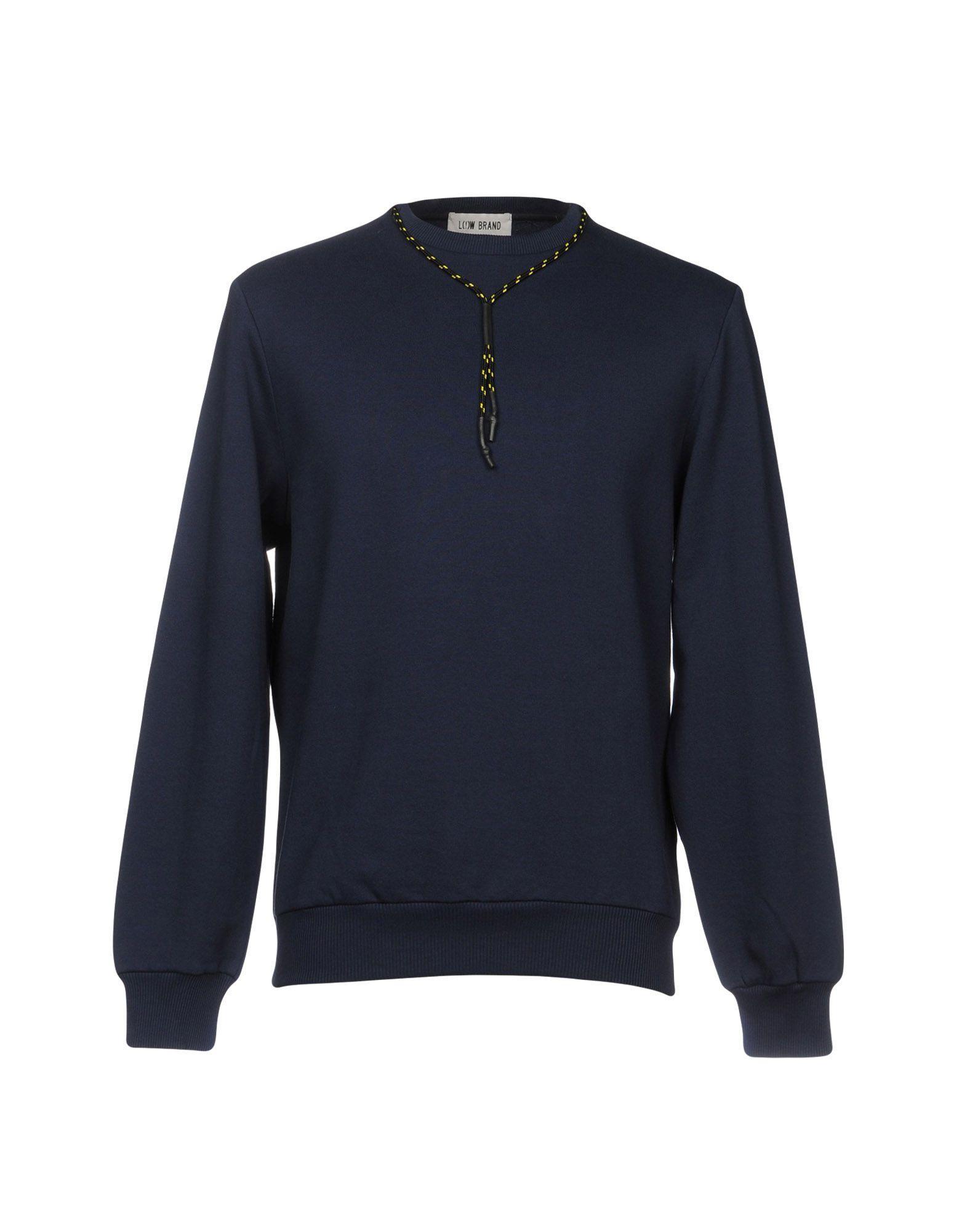 Low Brand Sweatshirts In Dark Blue