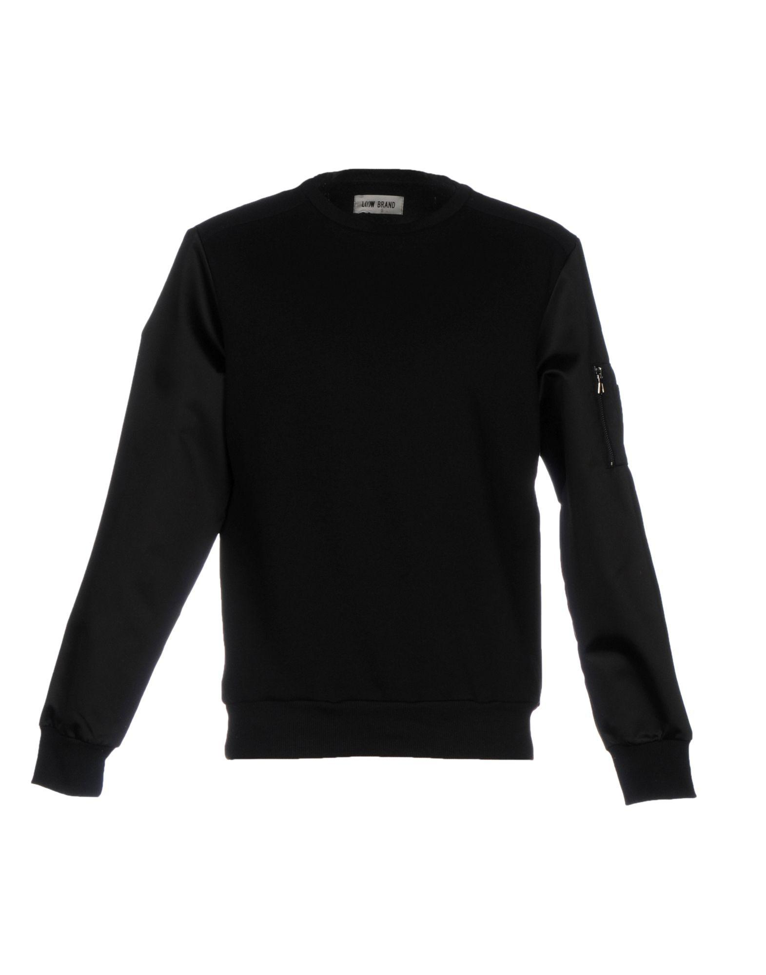 Low Brand Sweatshirts In Black
