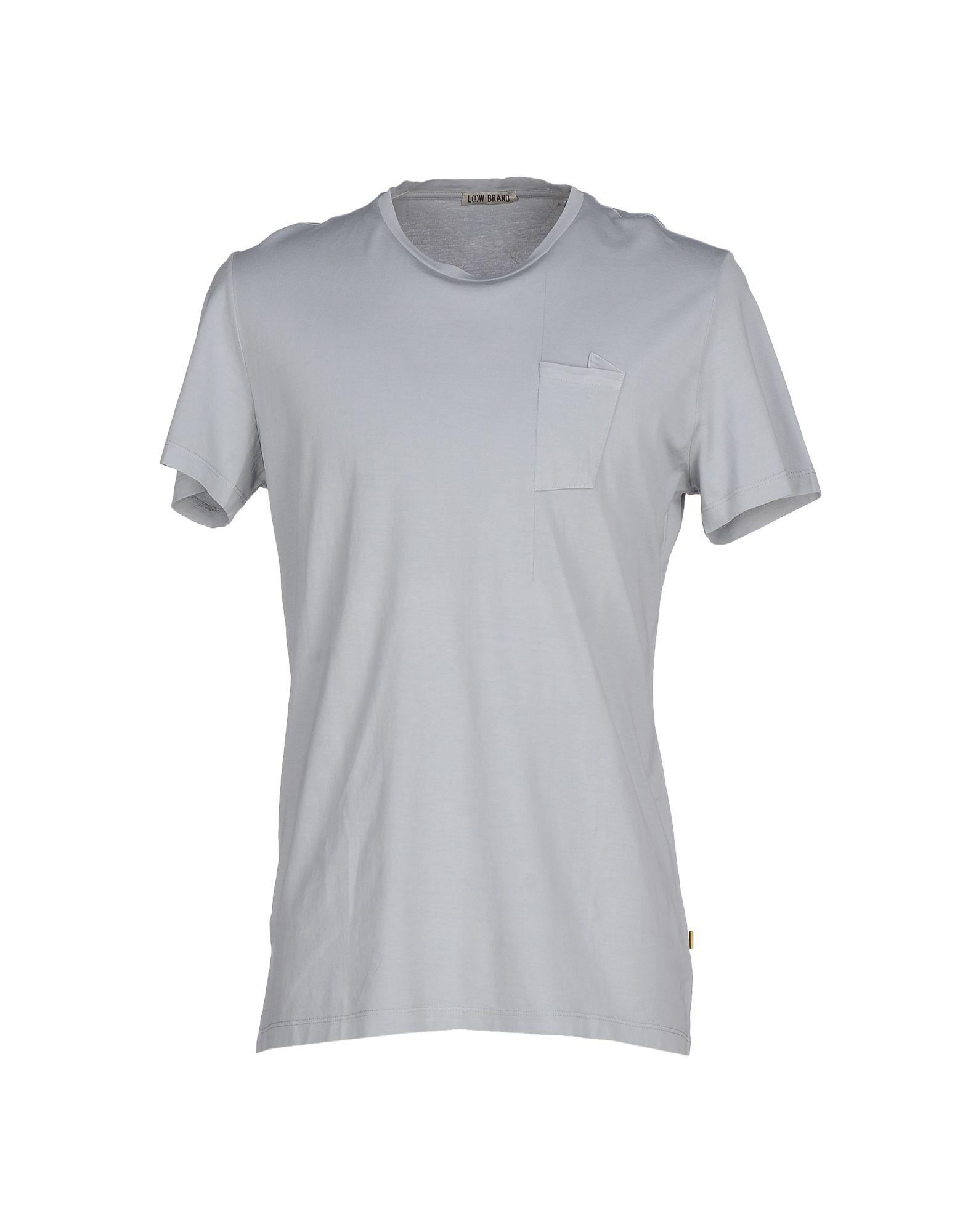 Low Brand T-shirt In Light Grey