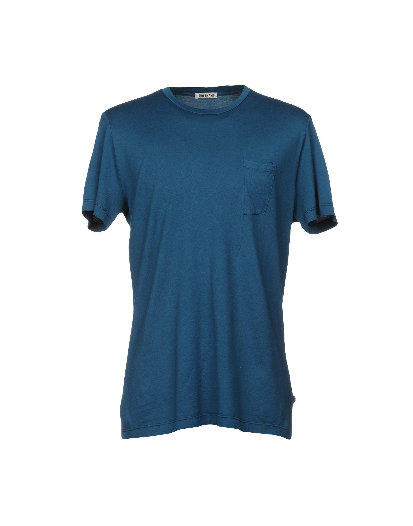 Low Brand T-shirts In Deep Jade