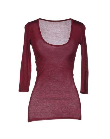 Fine Collection T-shirts In Maroon