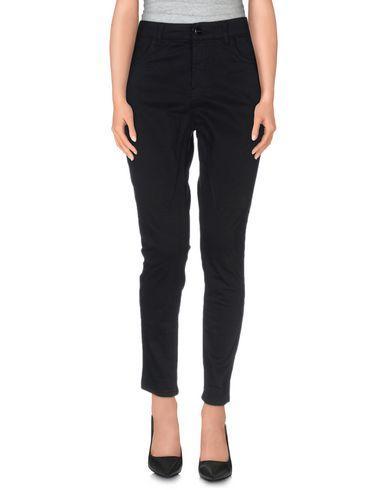 Manila Grace Casual Pants In Black