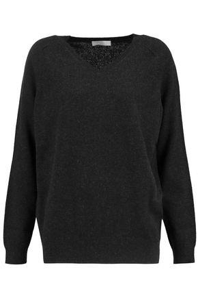 Vince Woman Cashmere Sweater Charcoal