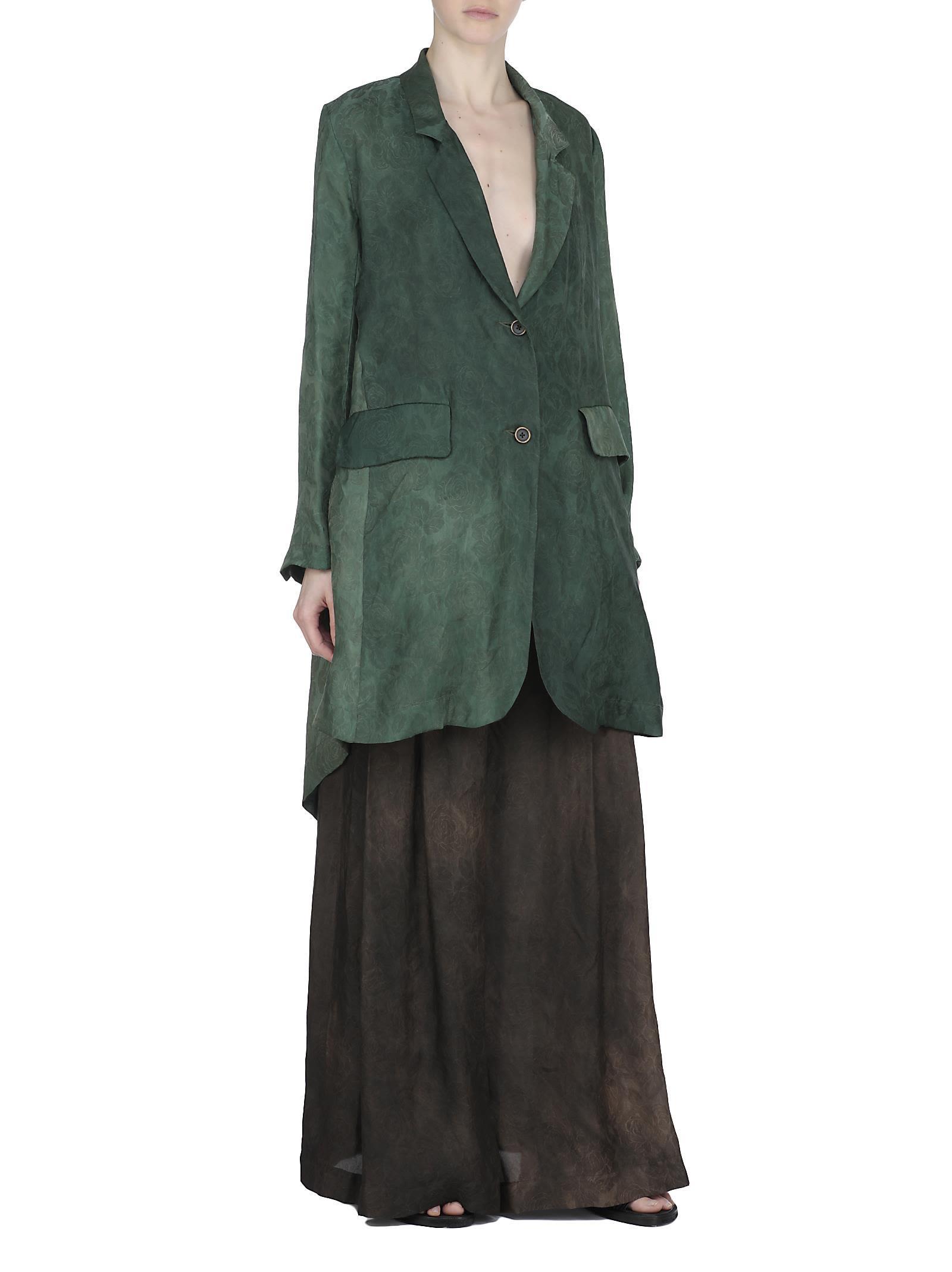 Uma Wang Kanti Jacket In Green