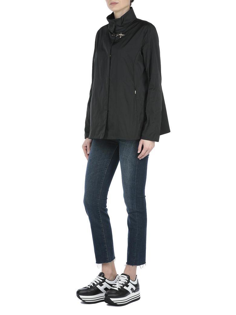 Fay Waterproof Jacket In Black