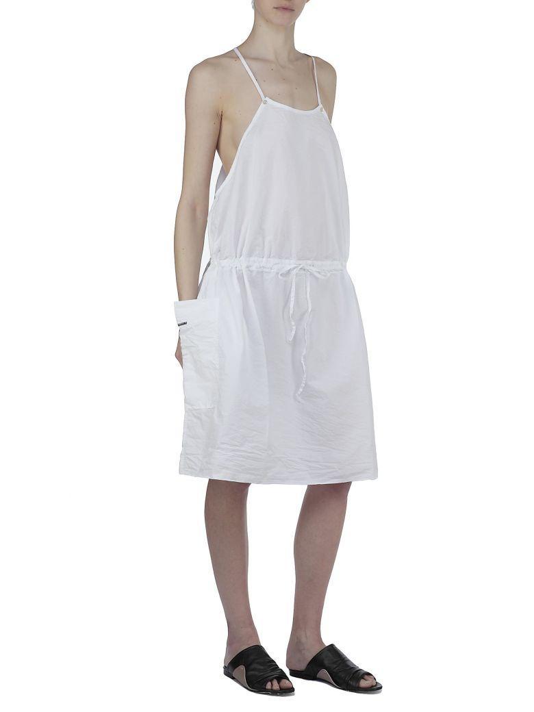Album Di Famiglia Cotton Dress In White