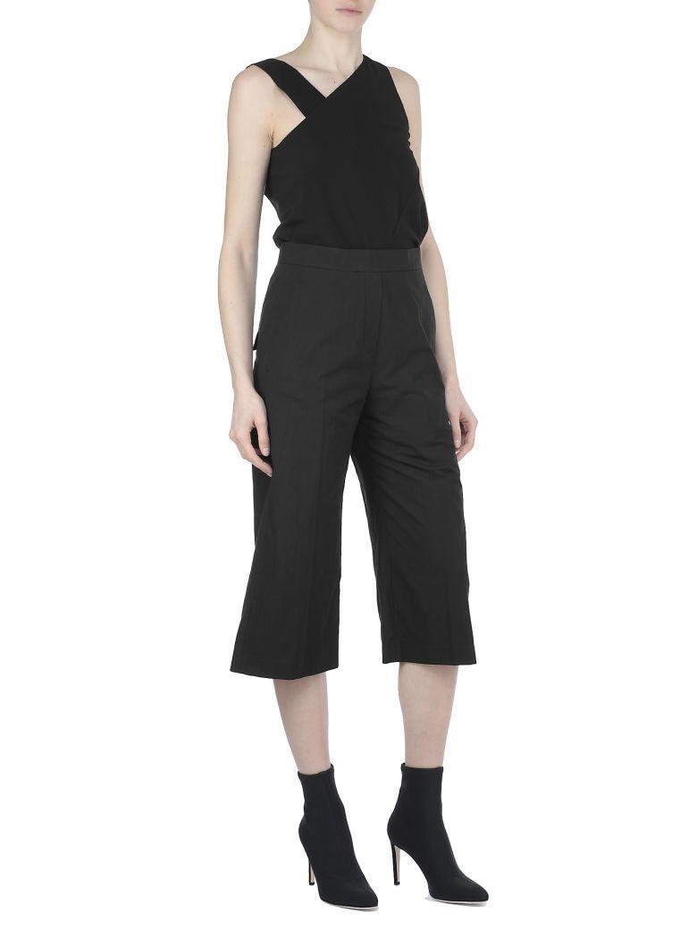 Neil Barrett Cotton Blend Trousers In Black