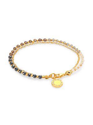 Astley Clarke Twilight Degrade Biography Bracelet In Gold Multi