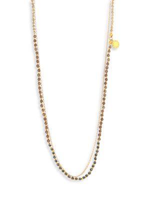 Astley Clarke Twilight Degrade Biography Necklace In Gold Multi
