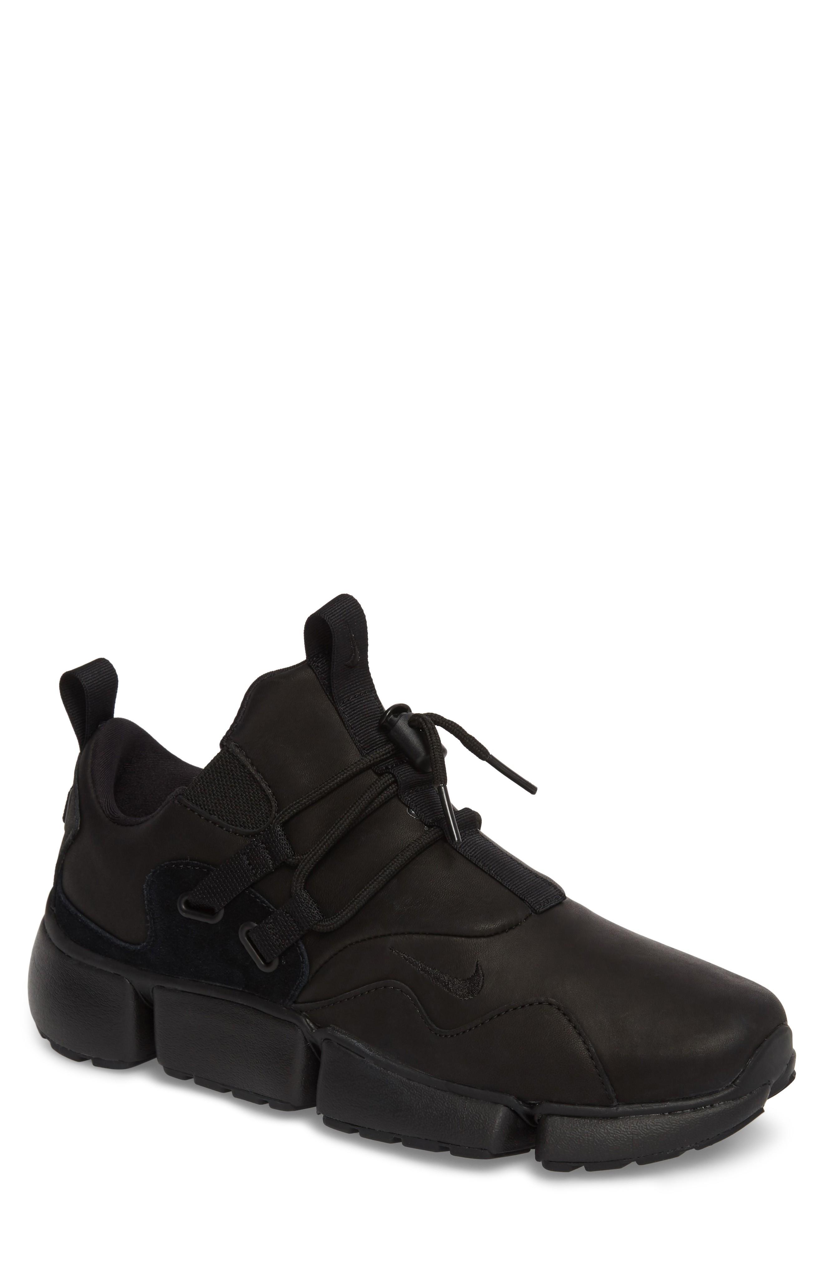 Nike Pocketknife Dm Sneaker In Black/ Black/ Black
