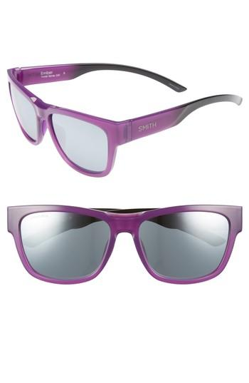 6dec8c2962 A nearly-straight top bar offers a striking look to these sleek square  sunnies fitted with proprietary ChromaPop lenses-helping to eliminate glare  while ...
