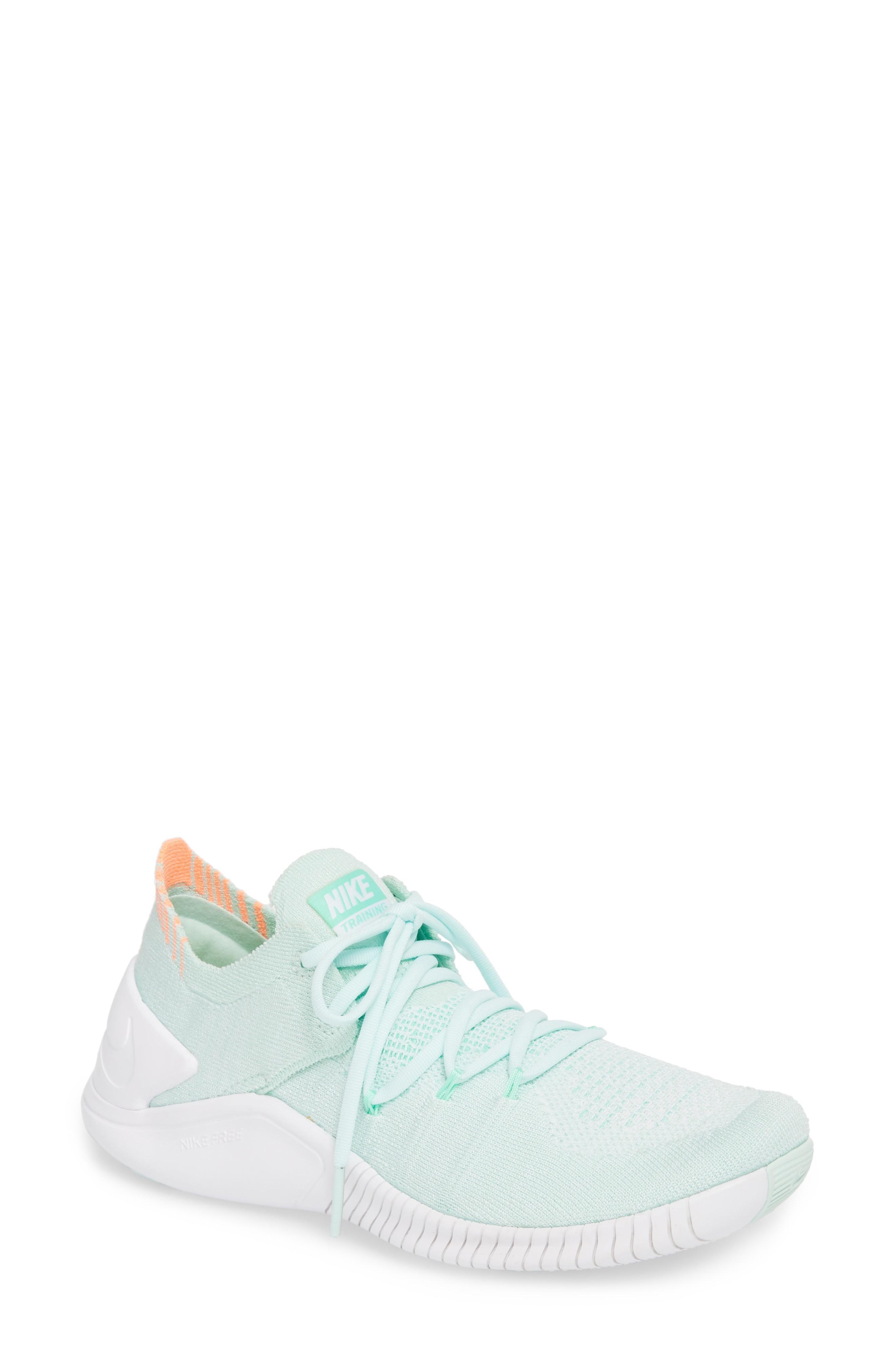promo code 44ae5 28467 Nike Free Tr Flyknit 3 Training Shoe In Igloo White