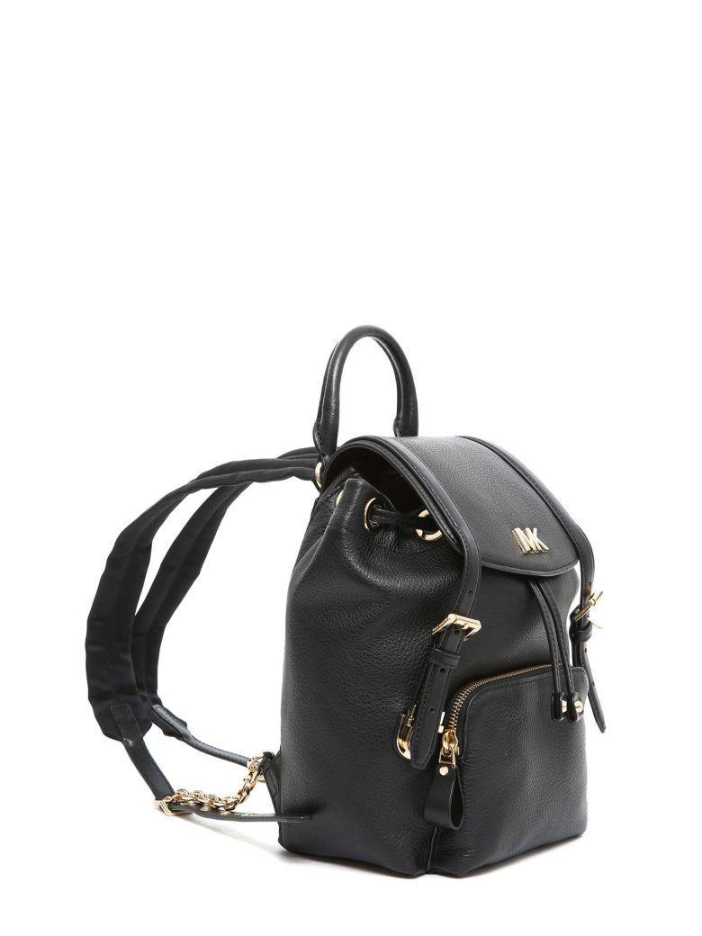 dc7e3331c969c3 Michael Michael Kors Small Mott Backpack In Nero   ModeSens