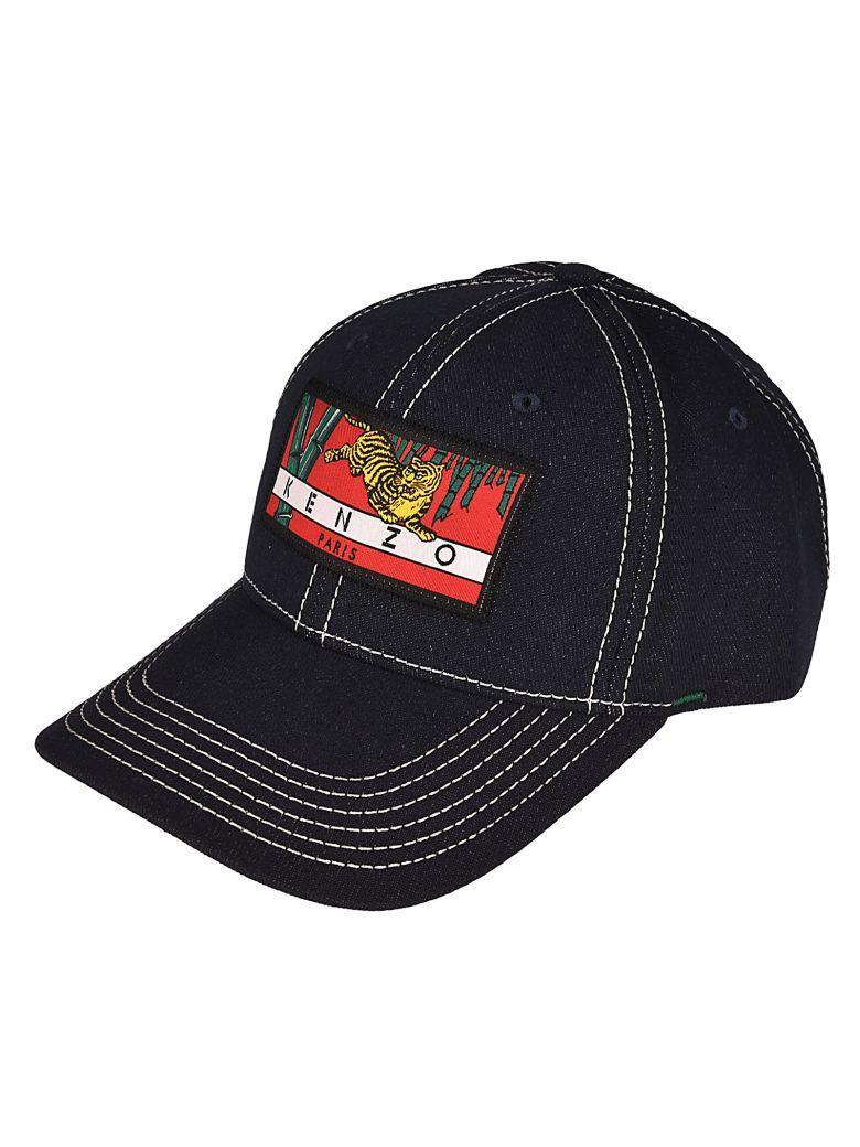 Kenzo cap Black Cap  Kenzo Paris Tiger Cap