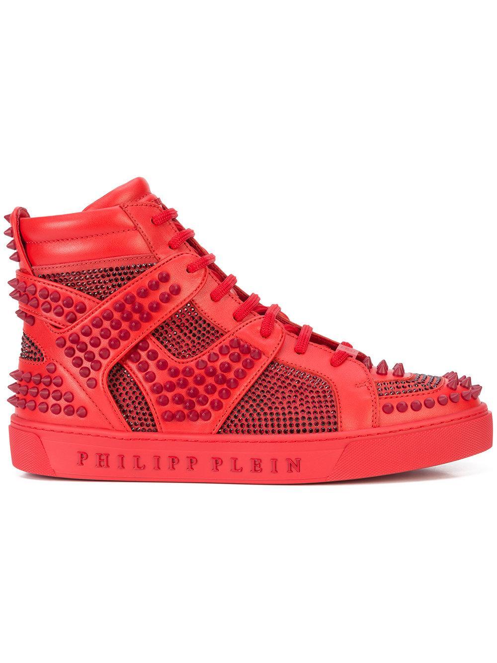 2e20376ef5 Philipp Plein Don'T Wake Me Up Hi-Top Sneakers | ModeSens
