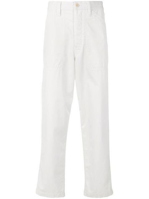 Lemaire Cropped Loose Fit Trousers