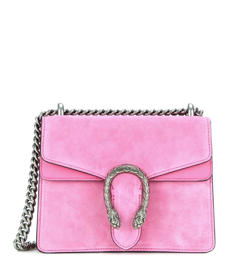 759bedaf3 Gucci Small Suede Shoulder Bag