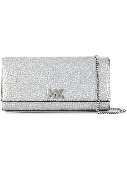 f9c5ab1da205dc Michael Michael Kors Mott Metallic Leather Chain Wallet | ModeSens