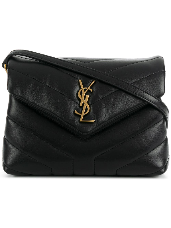9351c15a81a Saint Laurent Loulou Toy Monogram Ysl Quilted Shoulder Bag In Black ...