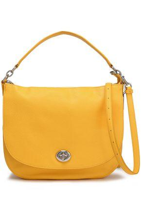Coach Woman Leather Shoulder Bag Marigold