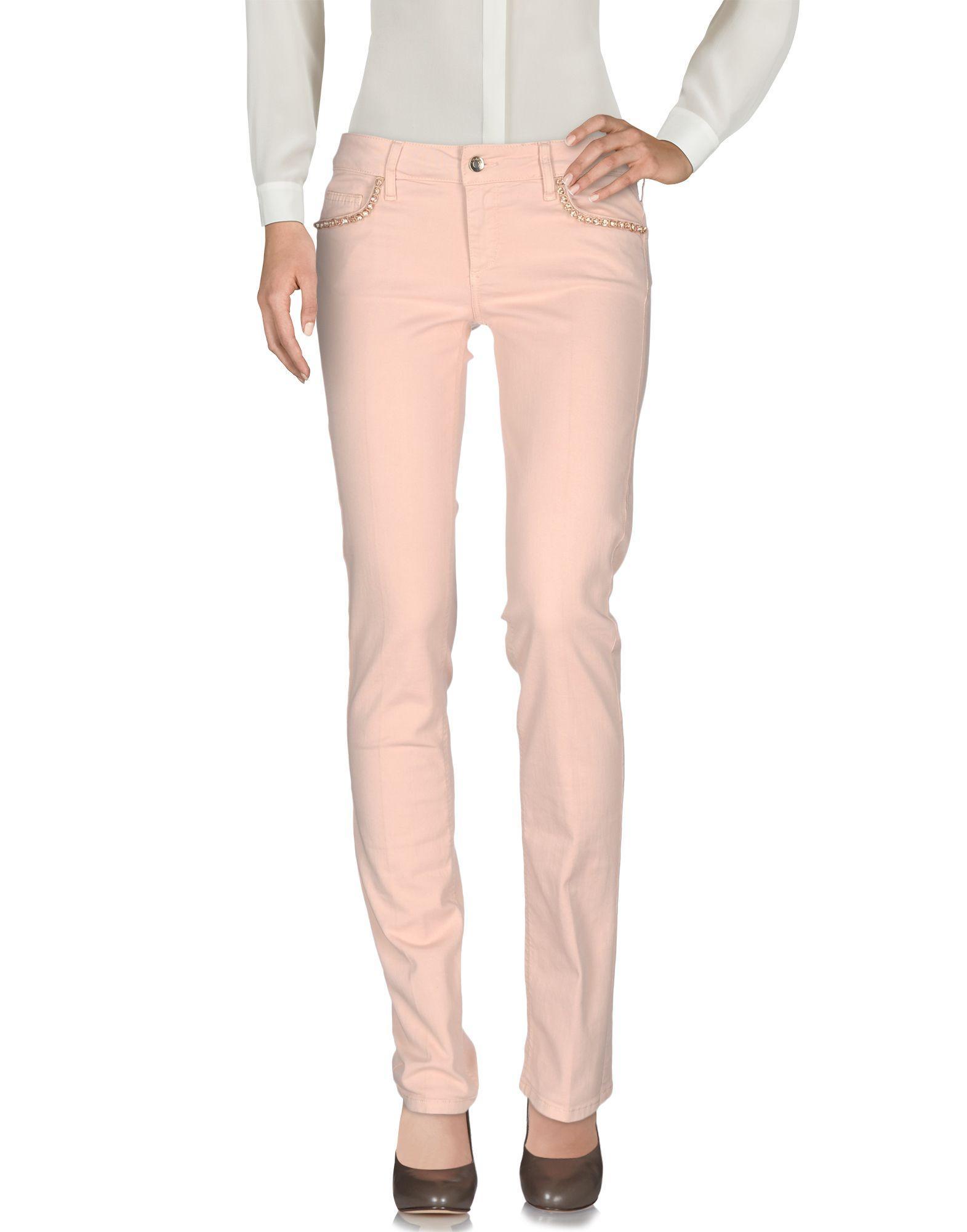 Liu •jo Casual Pants In Pink