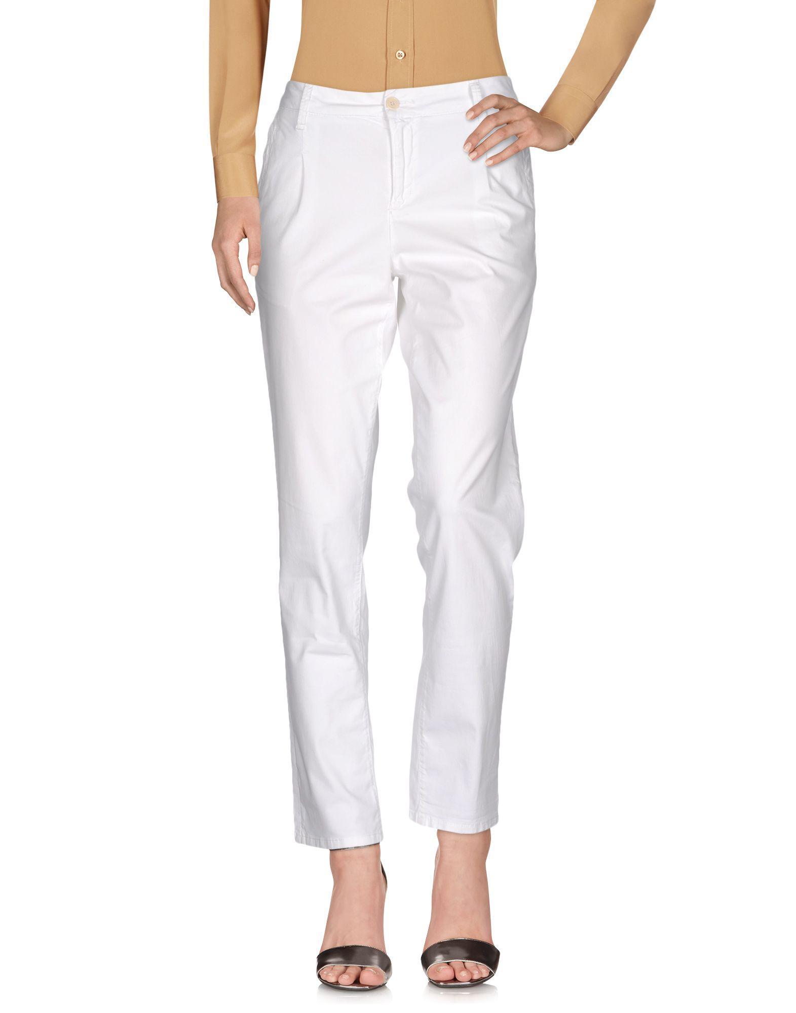 Liu •jo Casual Pants In White