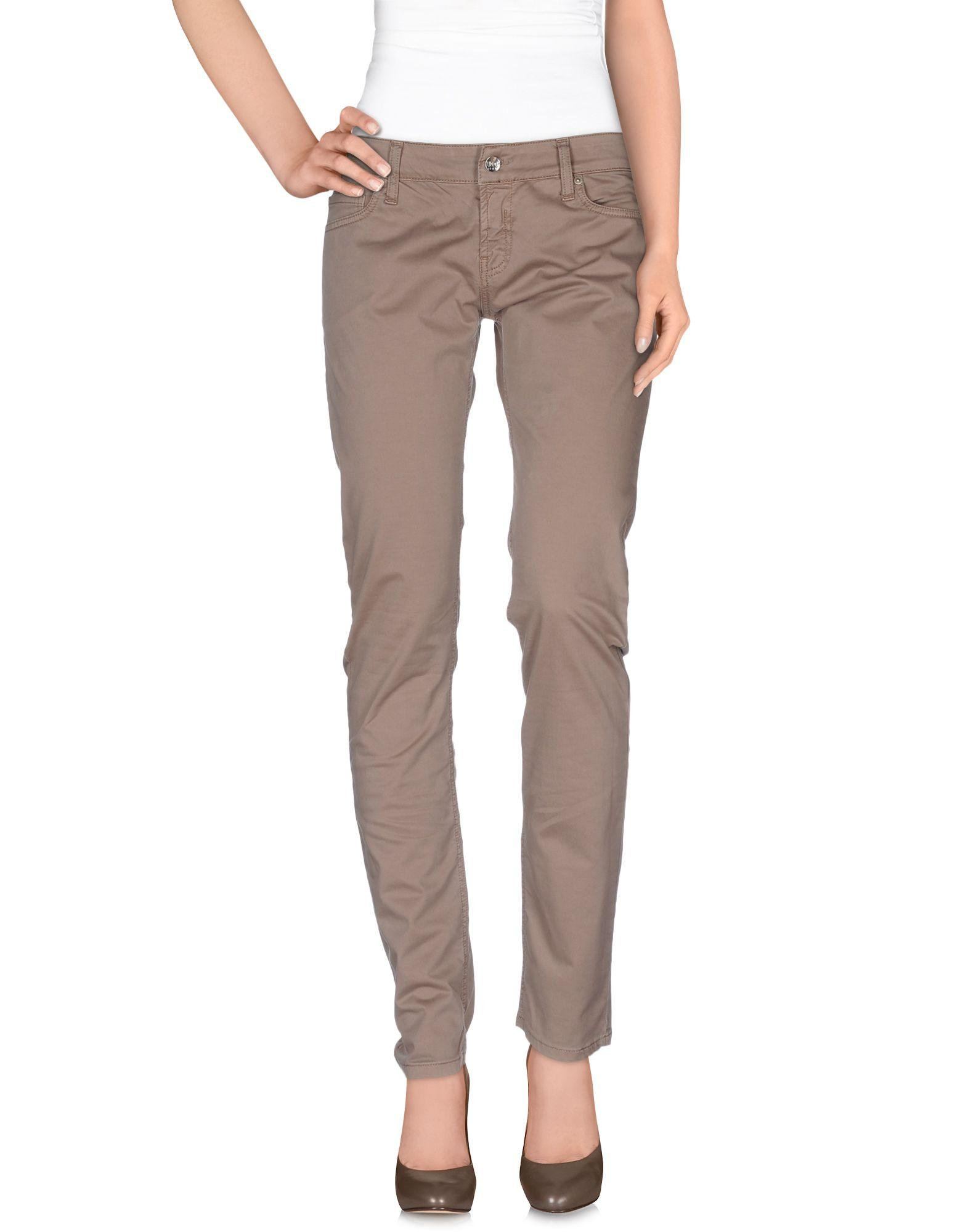 Liu •jo Casual Pants In Khaki