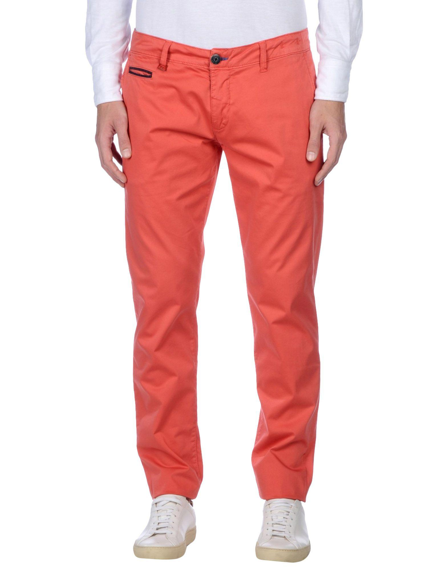 Liu •jo Casual Pants In Coral