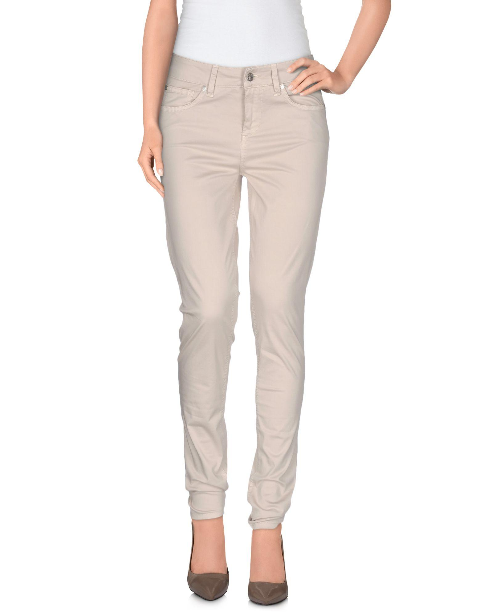 Liu •jo Casual Pants In Beige