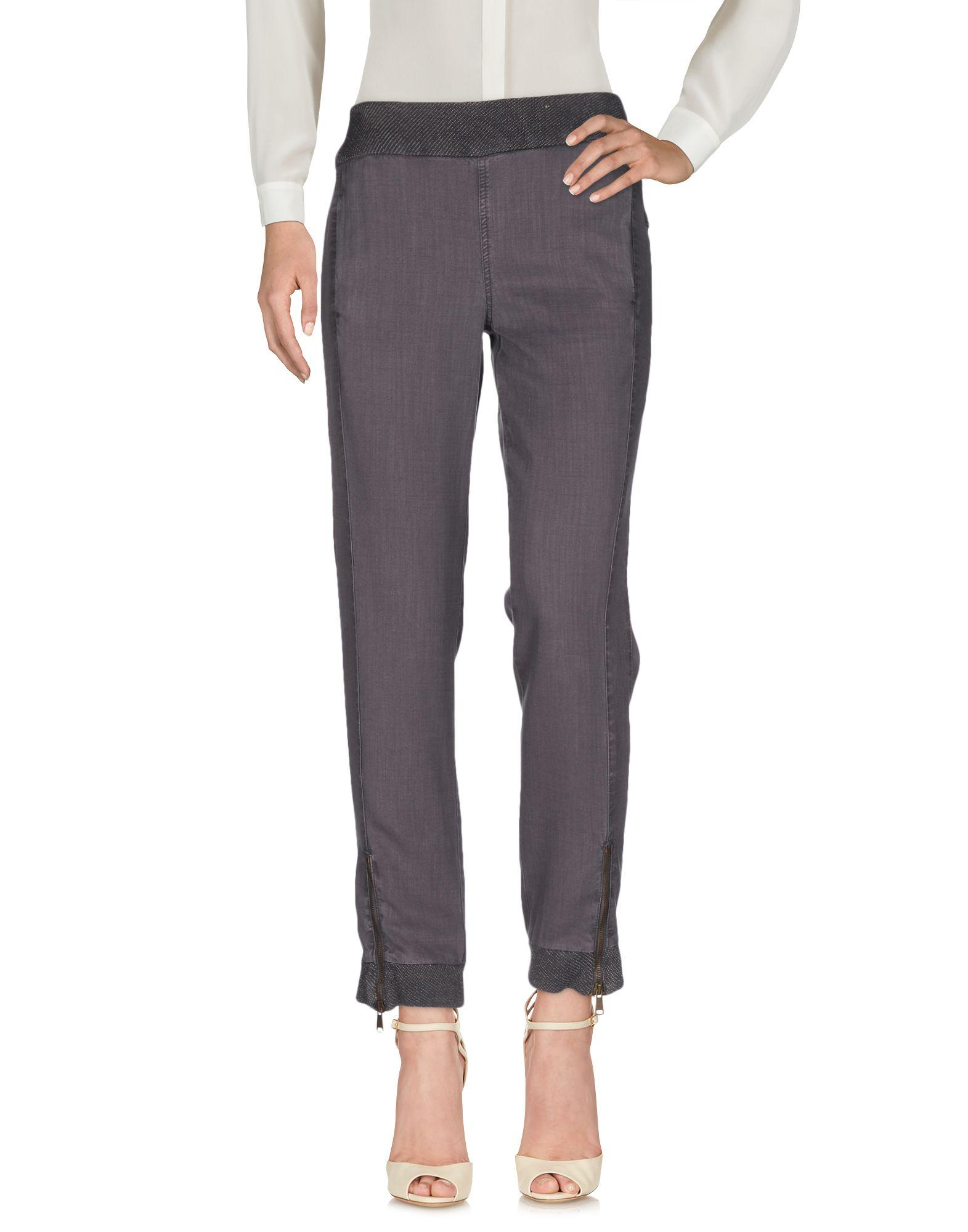 Liu •jo Casual Pants In Lead
