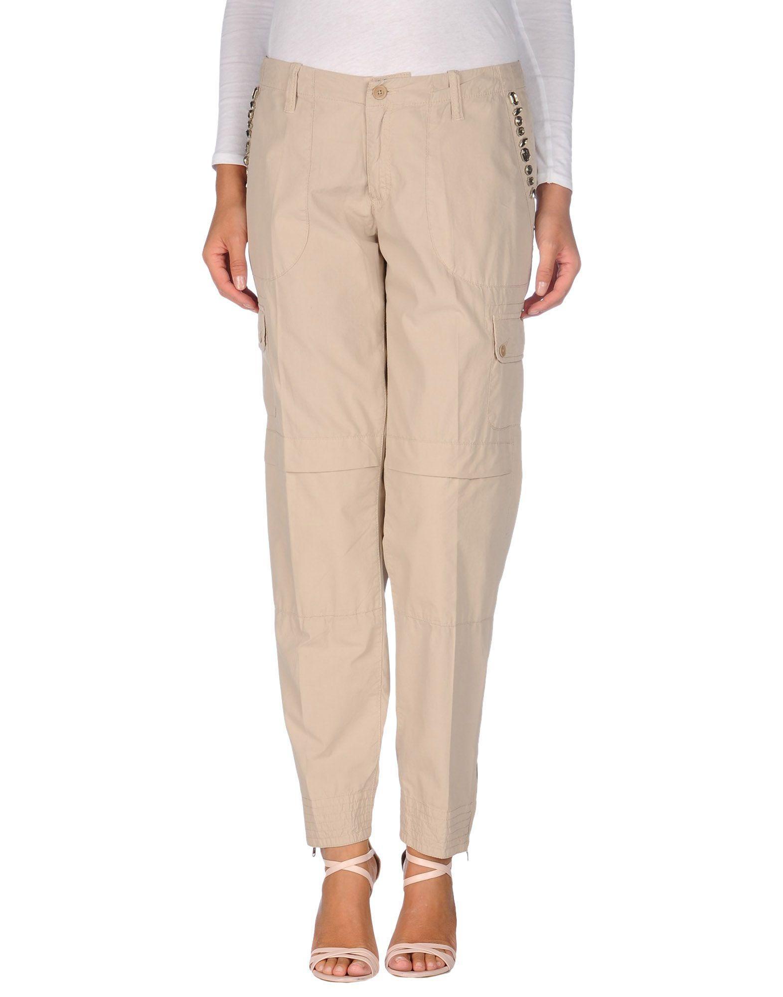 Liu •jo Casual Pants In Light Grey