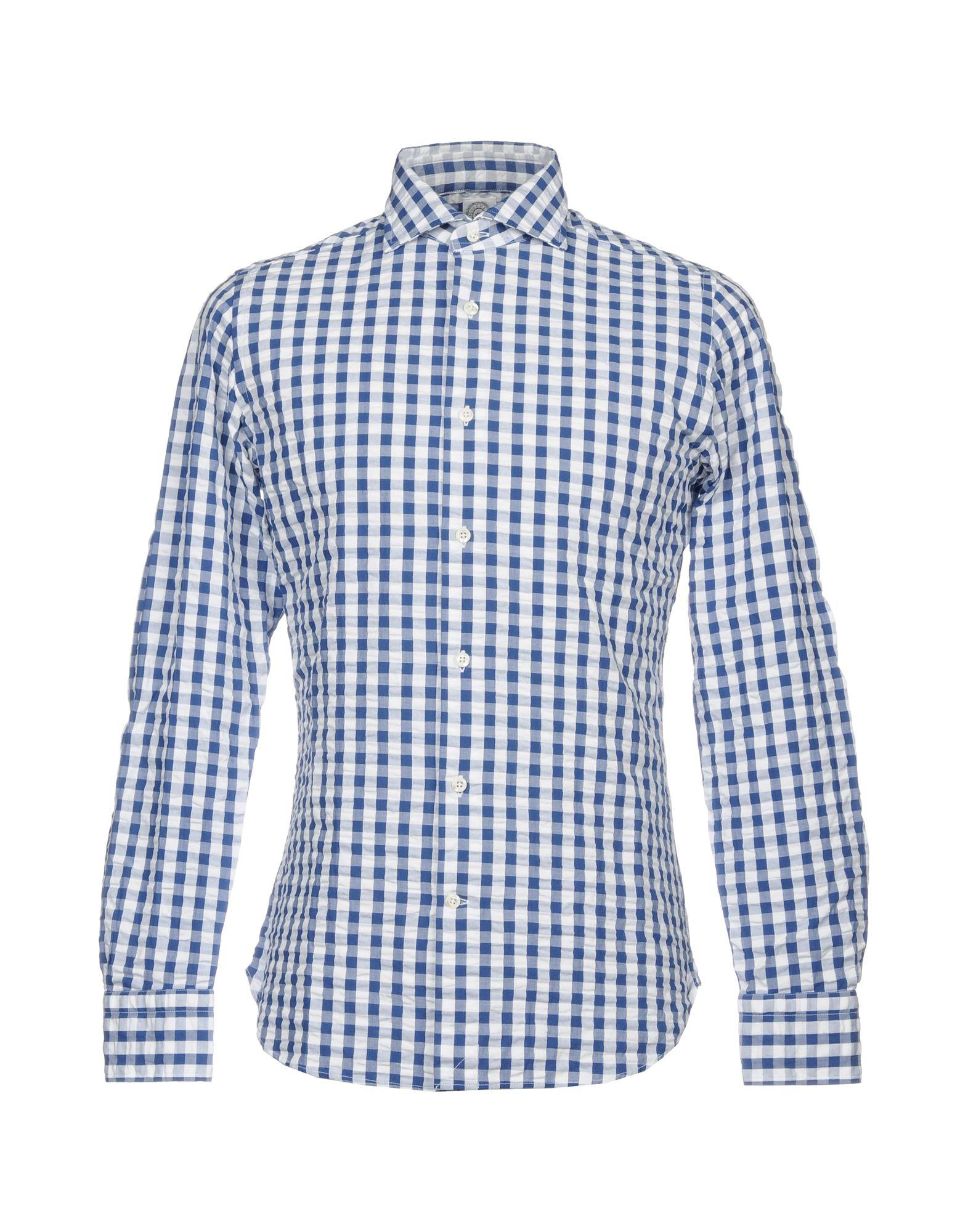 Bolzonella 1934 Shirts In Blue