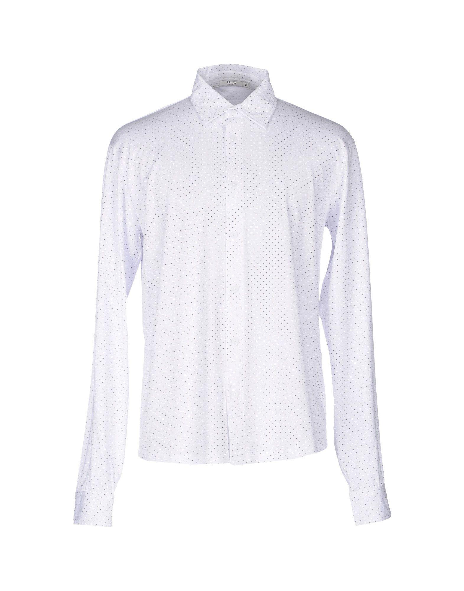 Liu •jo Patterned Shirt In White