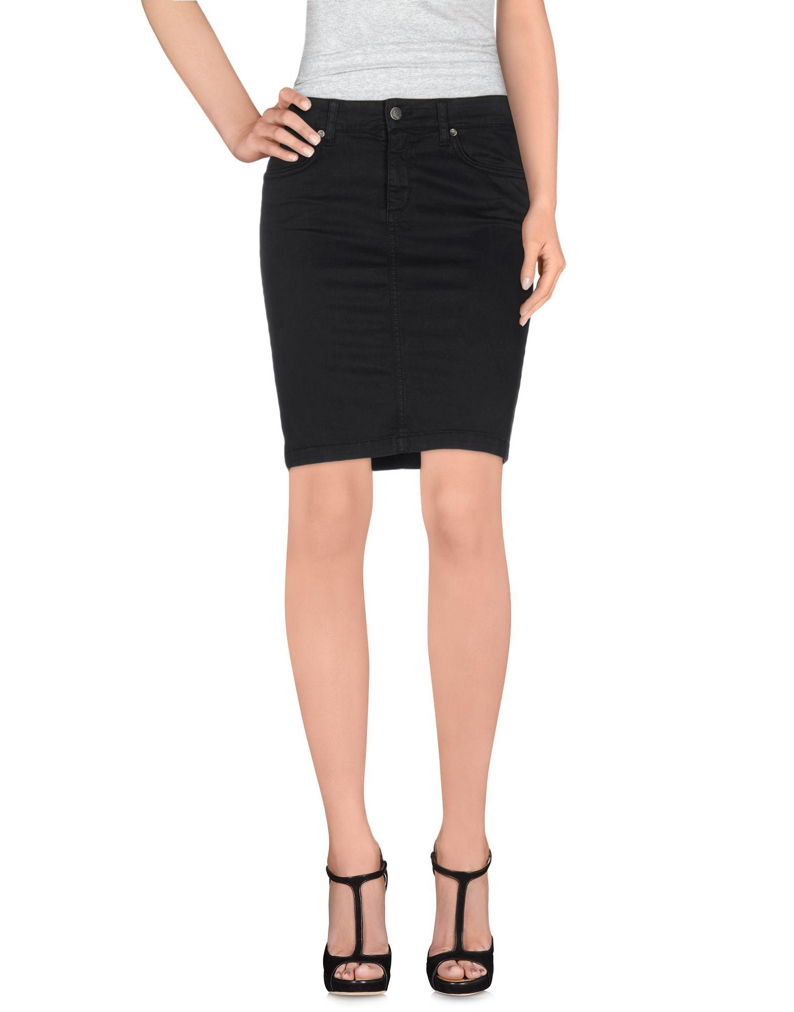 Liu •jo Mini Skirts In Black