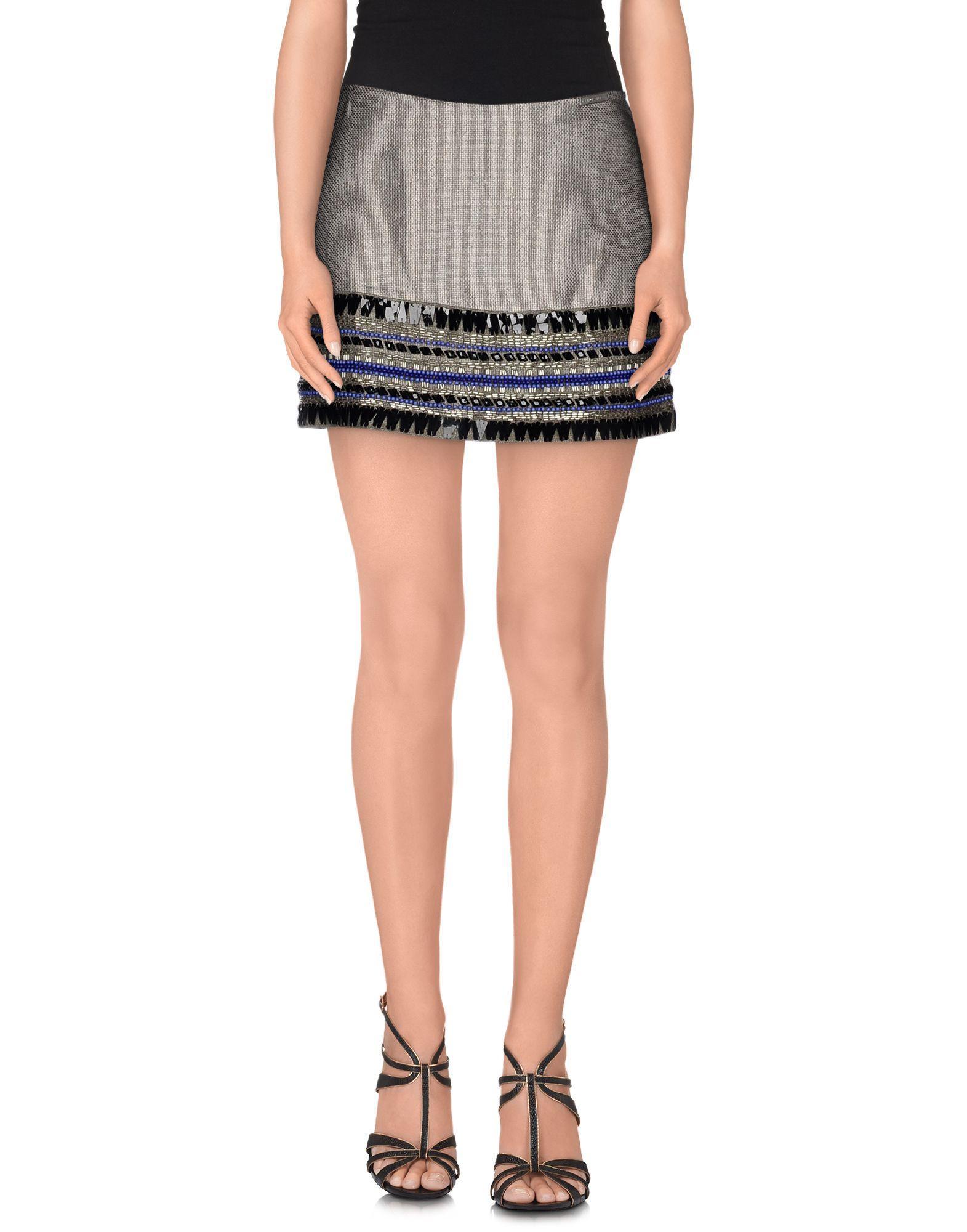 Liu •jo Mini Skirts In Grey