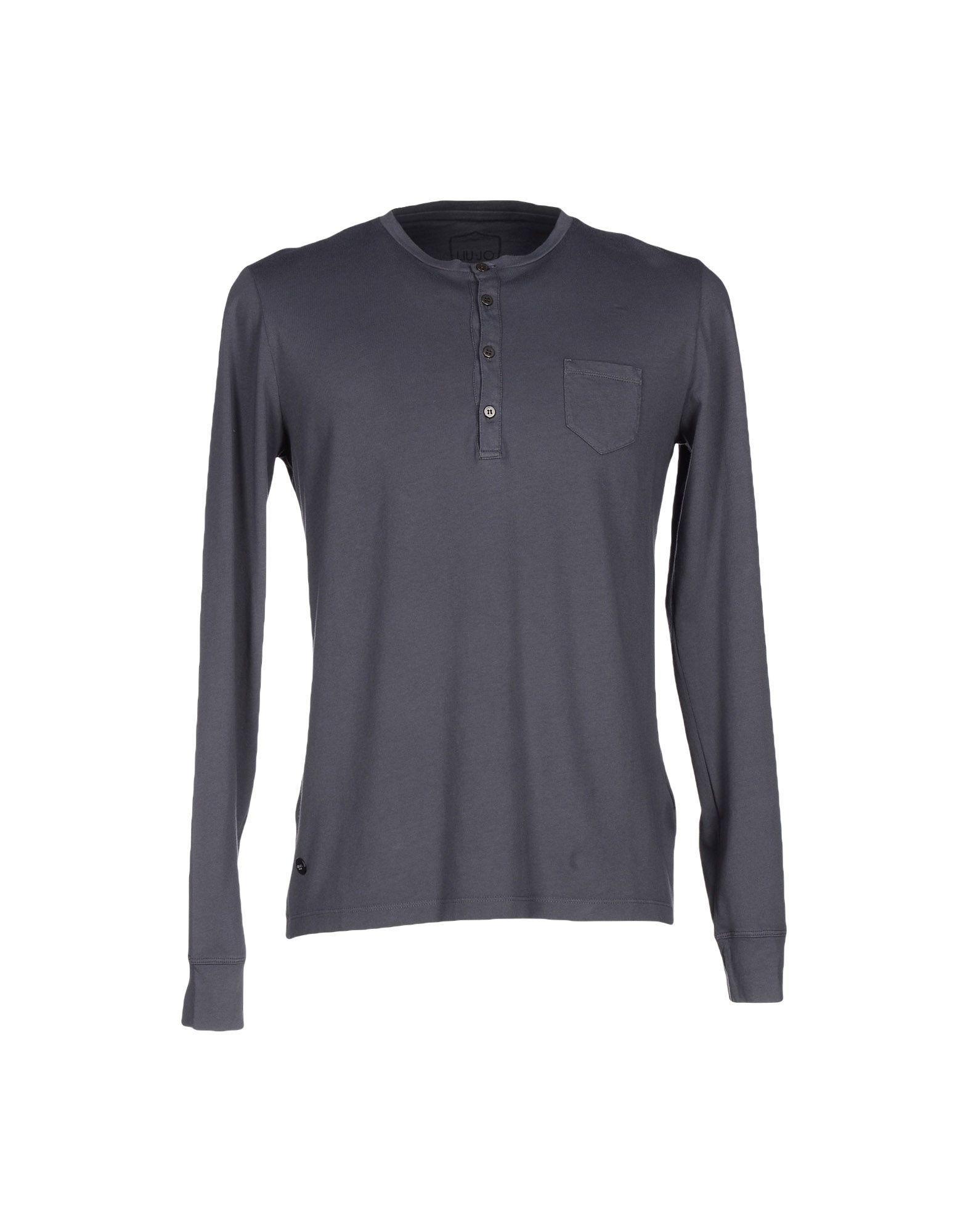 Liu •jo T-shirt In Grey