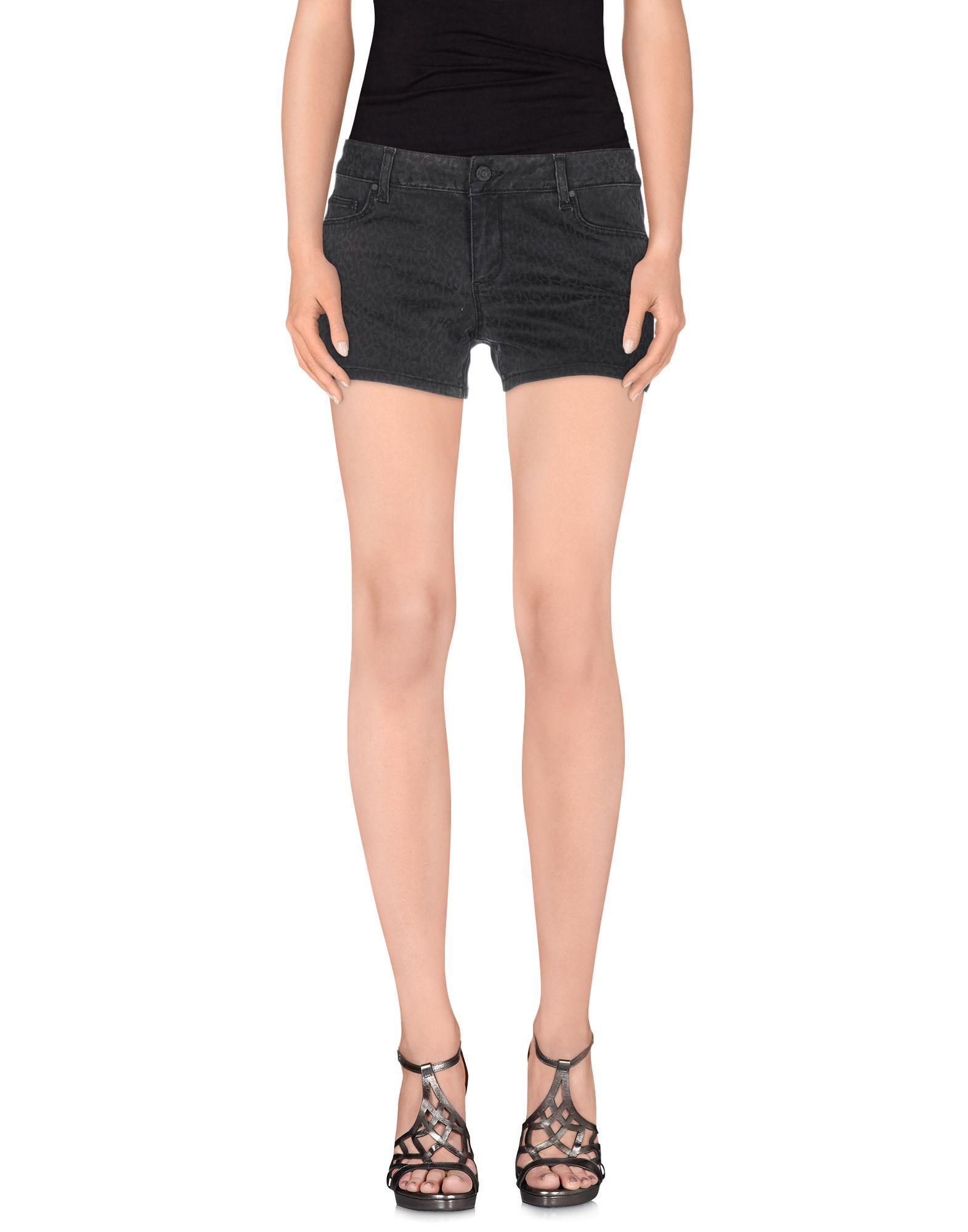 Liu •jo Denim Shorts In Steel Grey