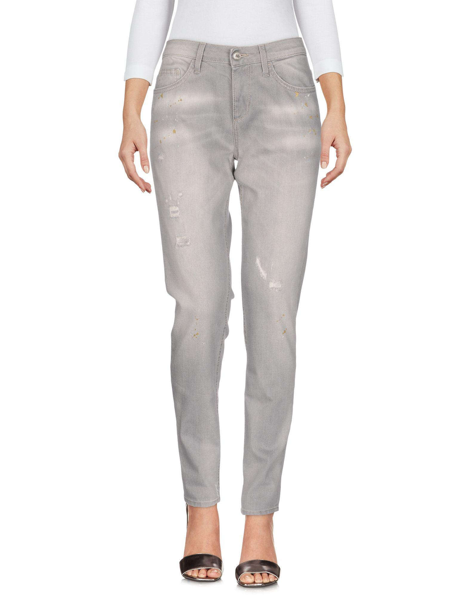 Liu •jo Denim Pants In Grey