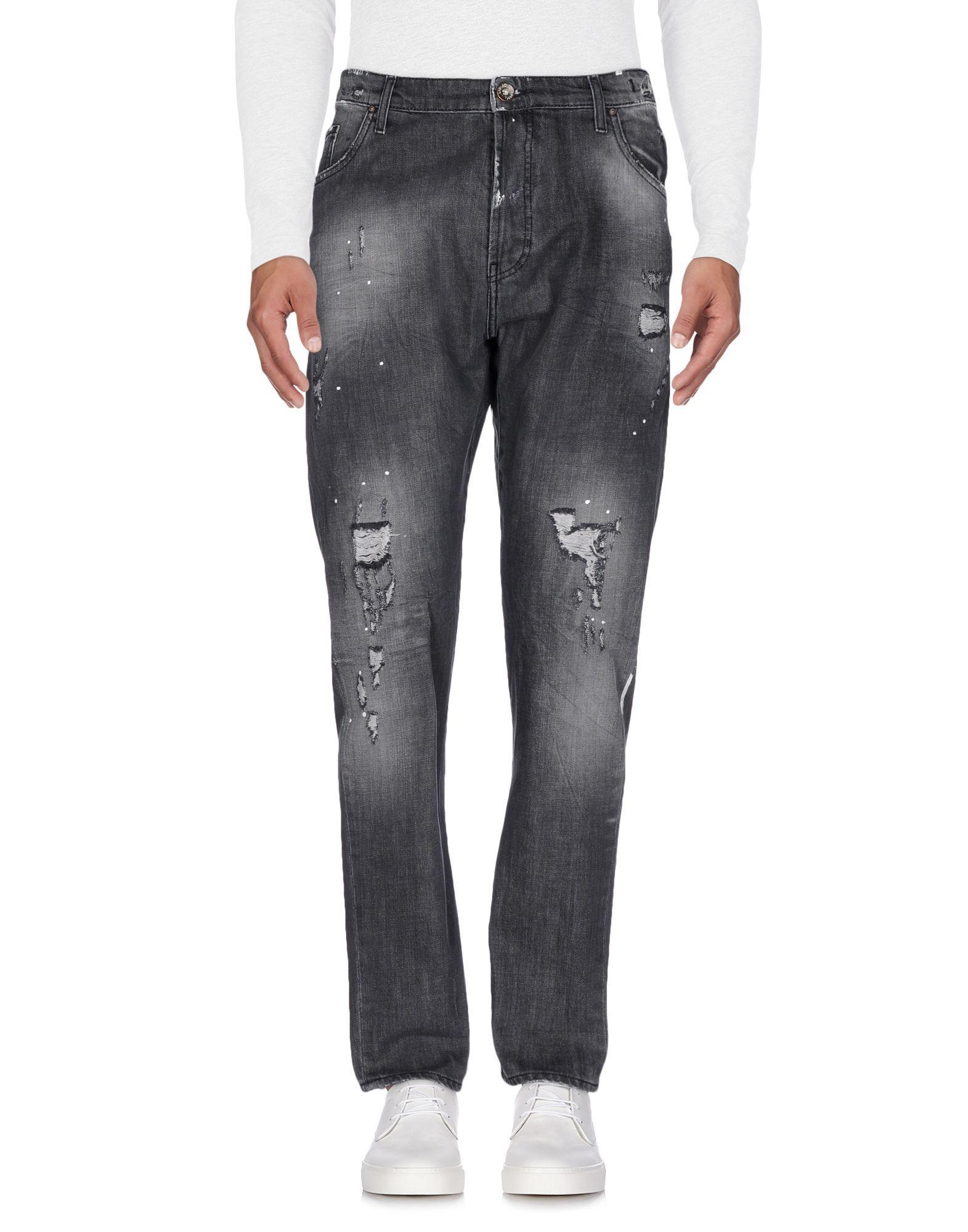Liu •jo Denim Pants In Steel Grey