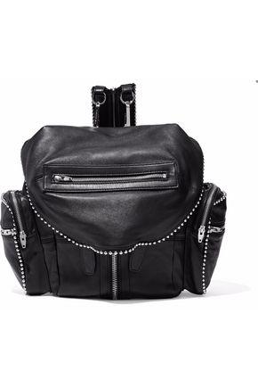 Alexander Wang Marti Studded Leather Backpack In Black