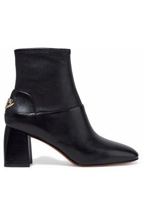 Tory Burch Woman Leather Ankle Boots Black