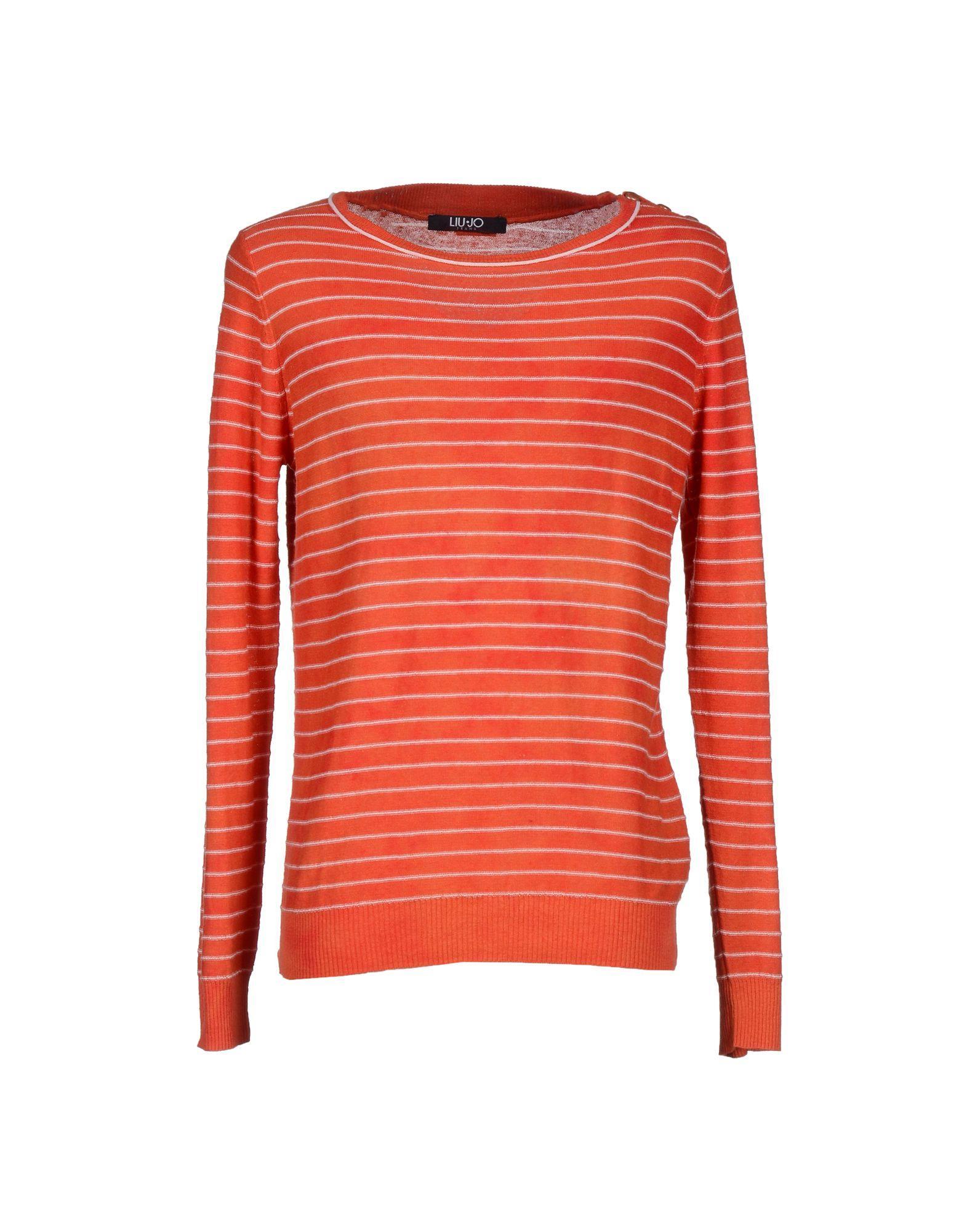 Liu •jo Sweater In Rust