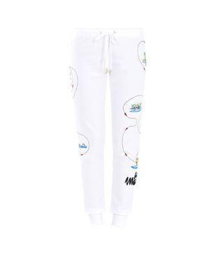 Love Moschino Pants In White