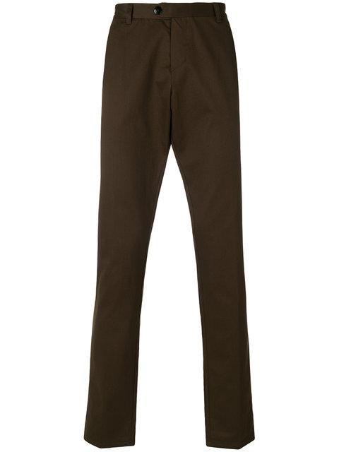 Jijibaba Classic Chino Trousers - Brown