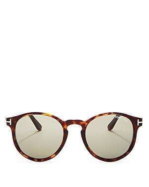 tom ford men 39 s ian round sunglasses 51mm in havana modesens. Black Bedroom Furniture Sets. Home Design Ideas