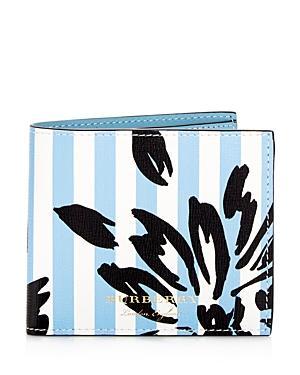 Burberry Patchwork Floral Leather Bi-fold Wallet