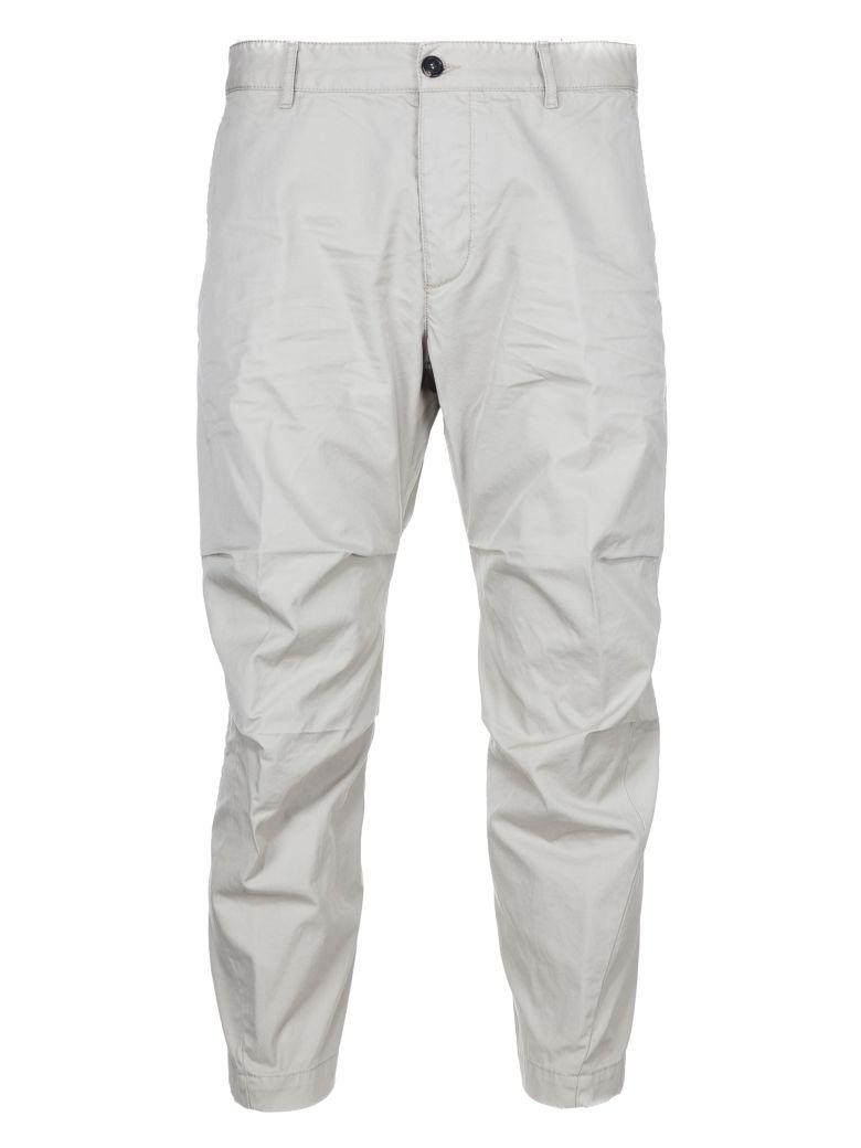 Dsquared2 2 Cropped Trousers In White
