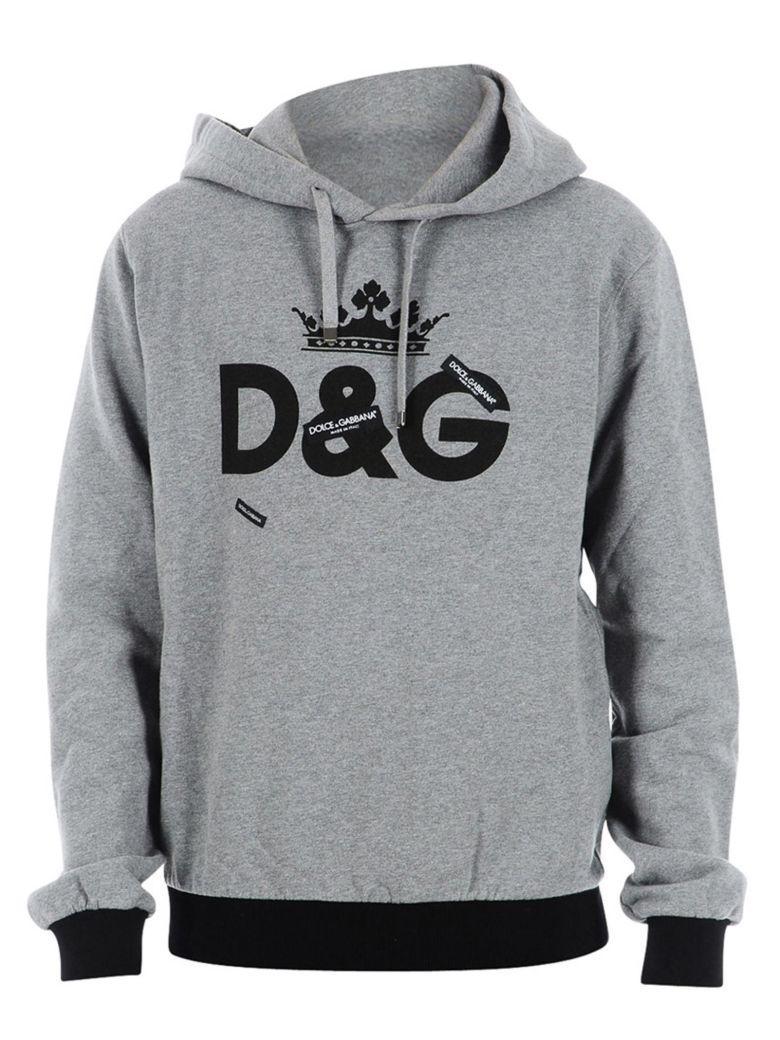 Dolce & Gabbana Dolce E Gabbana Sweatshirt In Grey